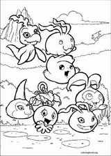 Digimon coloring page (002)