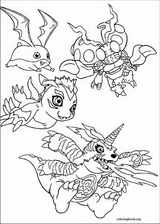 Digimon coloring page (014)