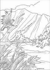 Dinosaur coloring page (001)