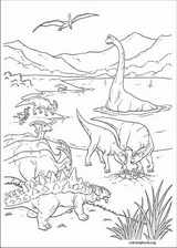 Dinosaur coloring page (003)