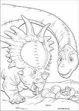 Dinosaur coloring page (004)