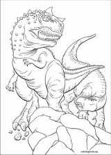 Dinosaur coloring page (008)