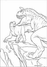 Dinosaur coloring page (009)