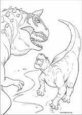 Dinosaur coloring page (011)