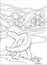 Dinosaur coloring page (016)