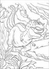 Dinosaur coloring page (017)