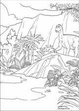 Dinosaur coloring page (019)