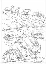 Dinosaur coloring page (022)