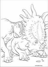 Dinosaur coloring page (024)