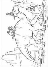 Dinosaur coloring page (027)