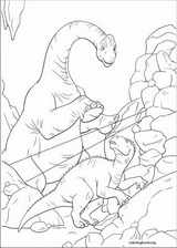 Dinosaur coloring page (035)