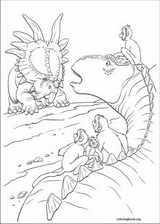 Dinosaur coloring page (038)