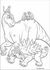 Dinosaur coloring page (041)
