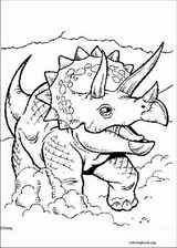 Dinosaur coloring page (045)