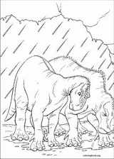Dinosaur coloring page (049)