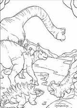 Dinosaur coloring page (050)