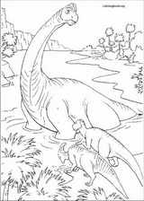 Dinosaur coloring page (051)