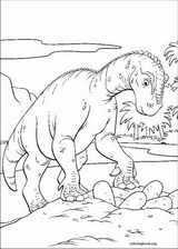 Dinosaur coloring page (054)