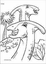 Dinosaur coloring page (061)