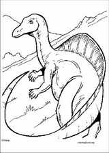 Dinosaur coloring page (064)