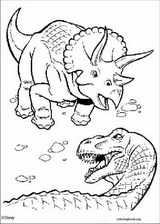 Dinosaur coloring page (066)