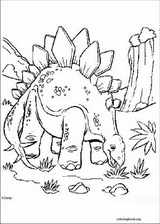 Dinosaur coloring page (067)