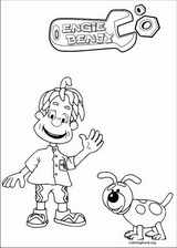 Engie Benjy coloring page (005)