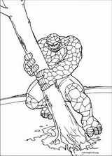 Fantastic Four coloring page (001)