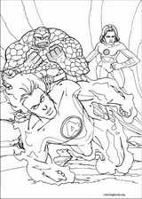 Fantastic Four coloring page (002)