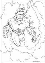Fantastic Four coloring page (003)