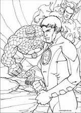 Fantastic Four coloring page (004)