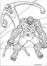 Fantastic Four coloring page (005)