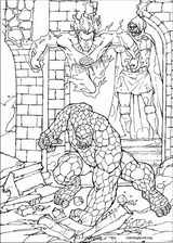 Fantastic Four coloring page (007)
