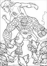 Fantastic Four coloring page (009)