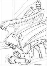 Fantastic Four coloring page (011)
