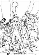 Fantastic Four coloring page (012)