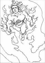 Fantastic Four coloring page (013)