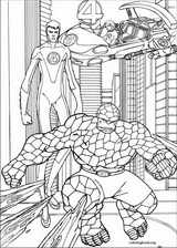 Fantastic Four coloring page (014)