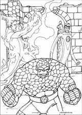 Fantastic Four coloring page (016)