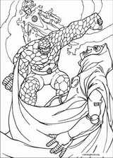 Fantastic Four coloring page (017)