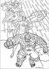Fantastic Four coloring page (018)