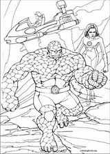 Fantastic Four coloring page (019)