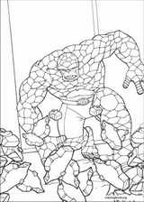 Fantastic Four coloring page (026)