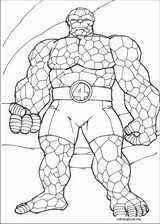 Fantastic Four coloring page (030)