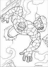 Fantastic Four coloring page (031)