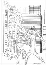 Fantastic Four coloring page (032)