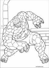 Fantastic Four coloring page (033)
