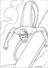 Fantastic Four coloring page (037)