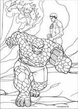 Fantastic Four coloring page (038)