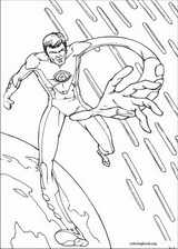 Fantastic Four coloring page (039)